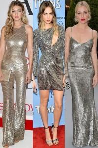 Në trend veshjet metalike për festat e fundvitit