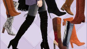 Tendencat e fundit të modës çizmet vjeshte-dimër 2016
